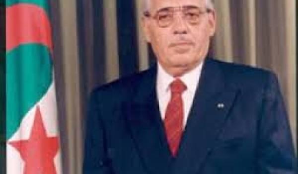 Ali Kafi, ancien président du HCE.