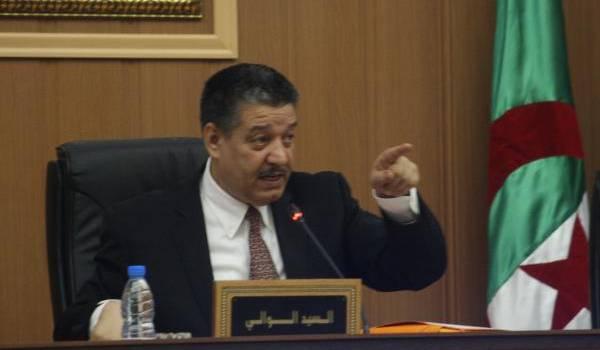 Abdelmalek Boudiaf.
