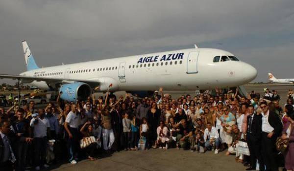La compagnie Aigle Azur change de terminal.