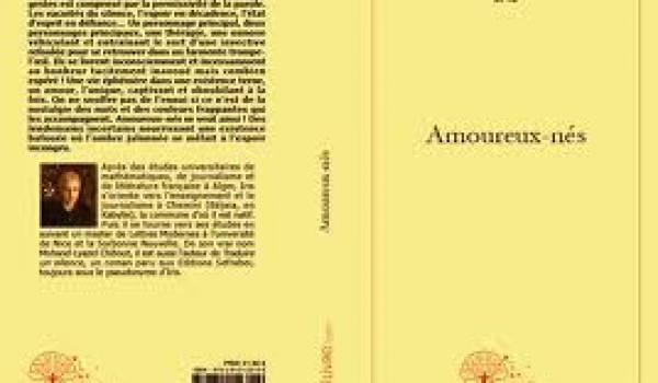 La couverture du roman de Mohand-Lyazid Chibout alias Iris.