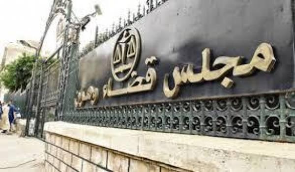 La cour d'Oran visée par un incendie criminel.