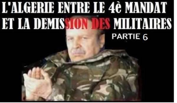 6. Vous avez transféré le pouvoir à la mafia, mon général, la preuve par Sonatrach !