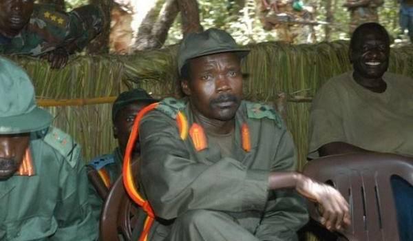 Le chef rebelle sanguinaire ougandais, Joseph Kony