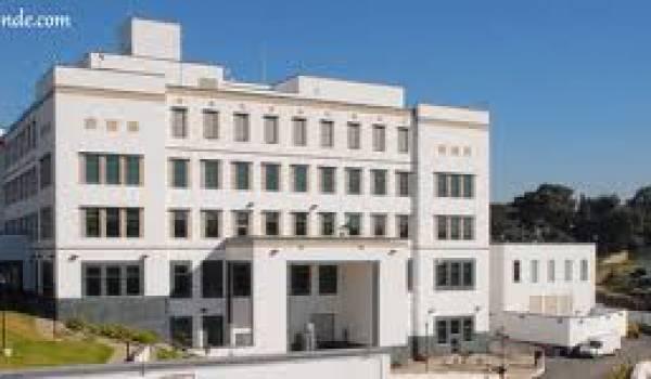 L'ambassade américaine à Alger.