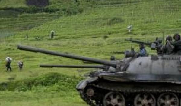 Des unités de l'armée congolaise.