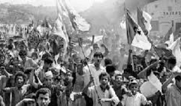 L'indépendance a nécessité d'immenses sacrifices aux Algériens.