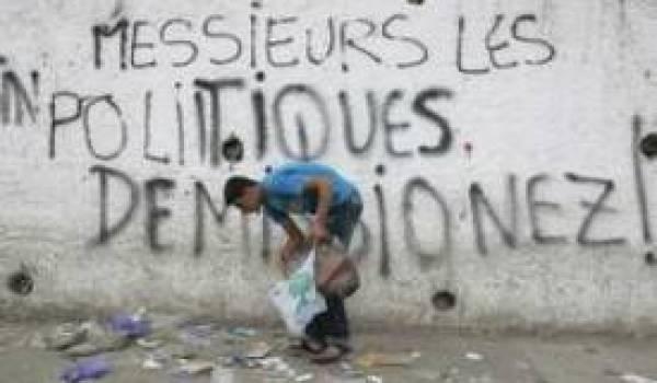 L'Algérien ne se fait plus d'illusion sur le personnel politique à la tête du pouvoir.