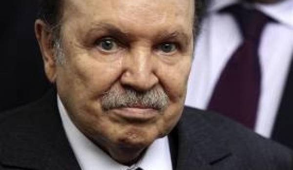 Le président Bouteflika