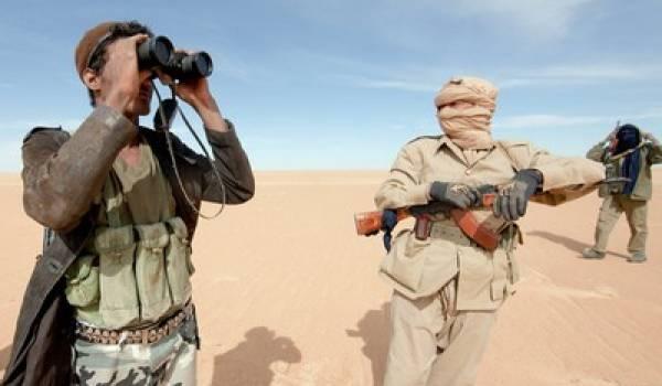 Des militants armés du MNLA.