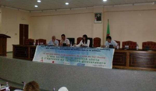 Le séminaire a eu lieu à Tizi Ouzou.