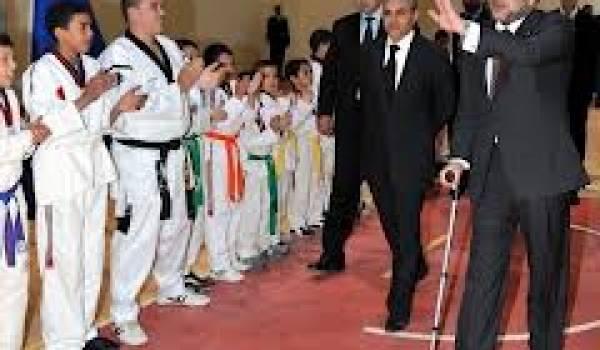 Mohammed VI à Nador, une de ses dernières apparitions.