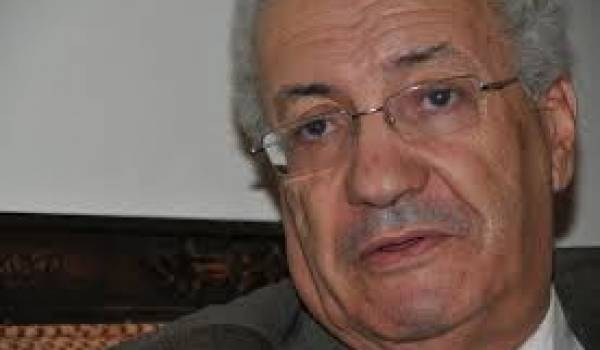 Mohamed Saïd, ministre de la Communication.