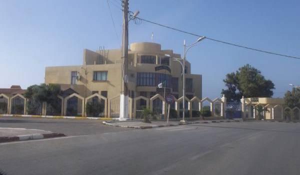 Siège de l'APC de Mers El Hadjadj
