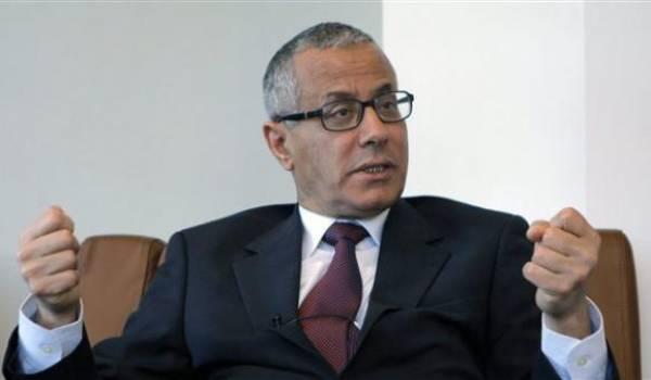 Ali Zeidan, chef du gouvernement libyen