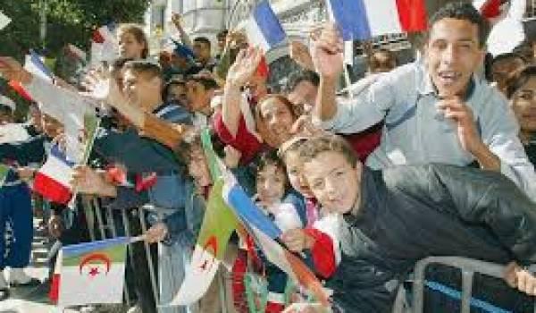 Les visites de présidents français ont Algérie sont souvent synonymes de bain de foule.