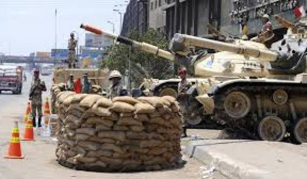 La situation en Egypte inquiète.