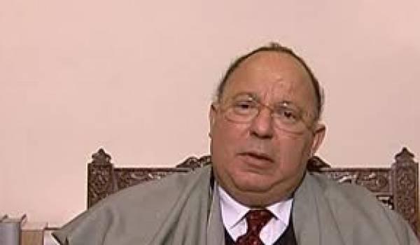 Dalil Boubekeur, l'inamovible recteur de la Mosquée de Paris.