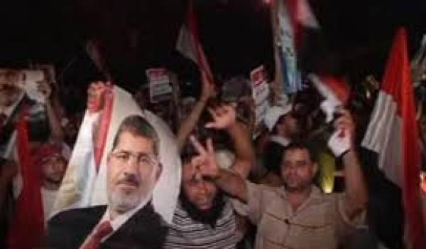 Les manifestants marocains ont appelé à l'expulsion de l'ambassadeur égyptien.