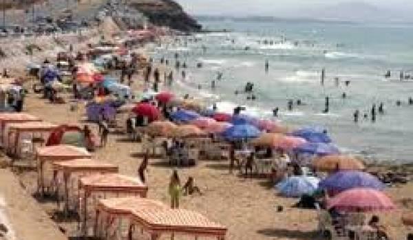 Les plages oranaises prises d'assaut.