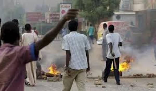 Le régime réprime sans pitié les manifestants.