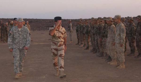 L'armée américaine a plusieurs mini-bases en Afrique.