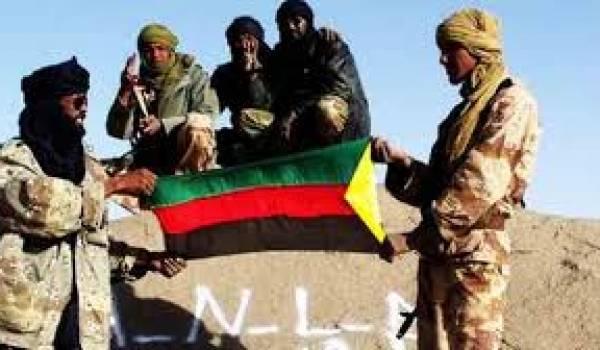 Des combattants du MNLA