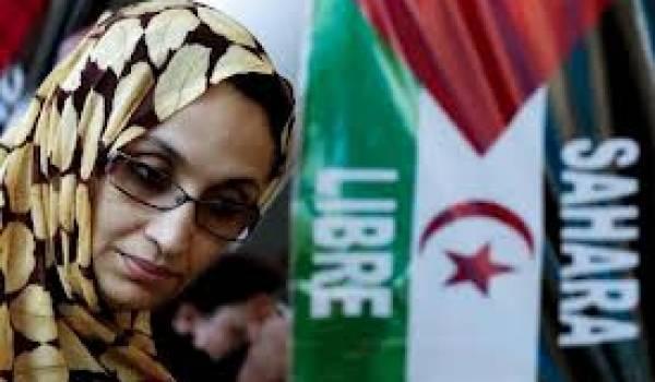 Le conflit qui oppose le Polisario au Maroc est jalonné de violations de droits de l'homme. Ici Aminatou Haider, militante sahraouie.