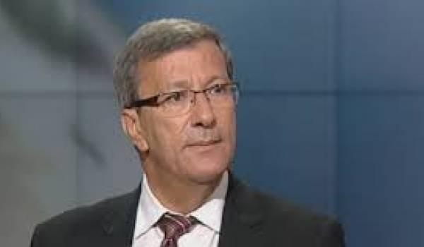 Ali Bounouari, candidat déclaré à la présidentielle de 2014.
