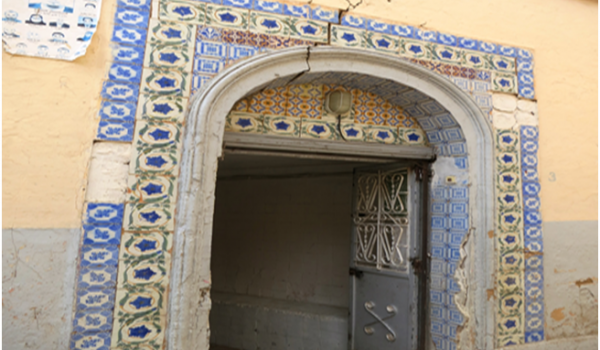 La plus ancienne porte de la vieille ville : l'entrée de Hammam Sidi Slimane