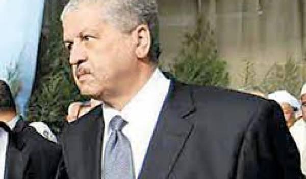 La déclaration de Sellal sous-entend-elle une protection de Chakib Khelili sous le coup d'un mandat international ?