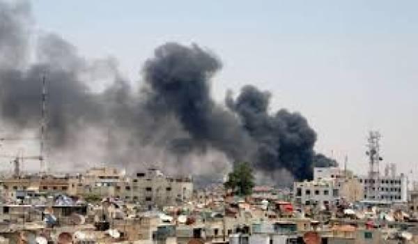 Les combats se poursuivent près de Damas