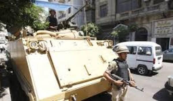 L'armée en opération contre les Frères musulmans.