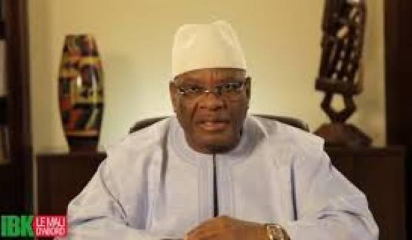 Le président malien Ibrahim Boubacar Kéïta