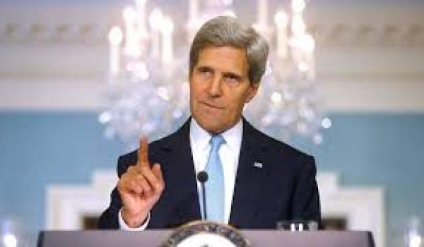 Kerry a reporté sa visite en Algérie pour se consacrer à la conférence de Genève.