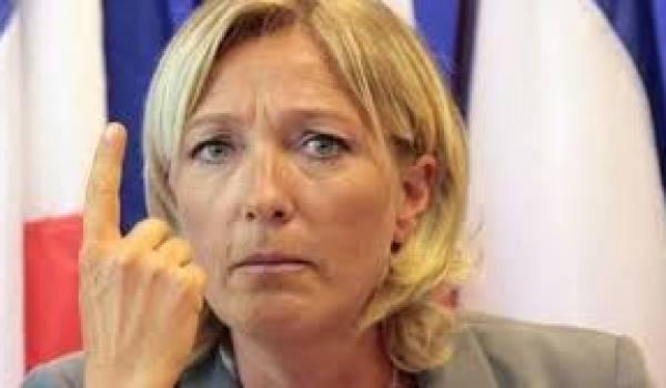 Marine Le Pen promet des surprises aux municipales de 2014.
