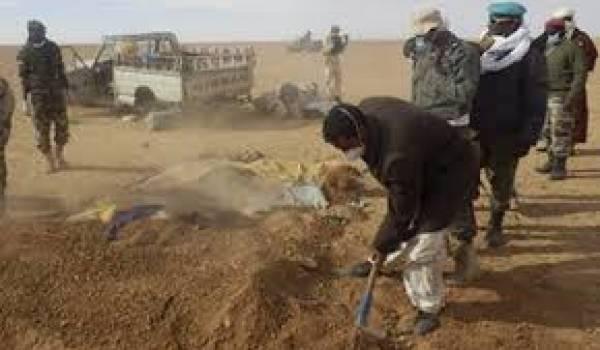 92 migrants sont morts la semaine dernière au Sahara.