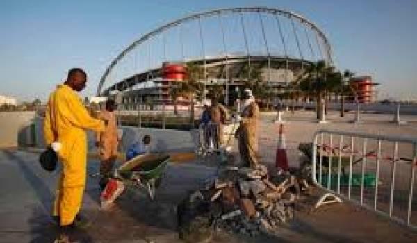 Le Qatar, selon Amnesty international, ne respecte pas les droits des ouvriers.