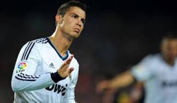 Ronaldo en colère