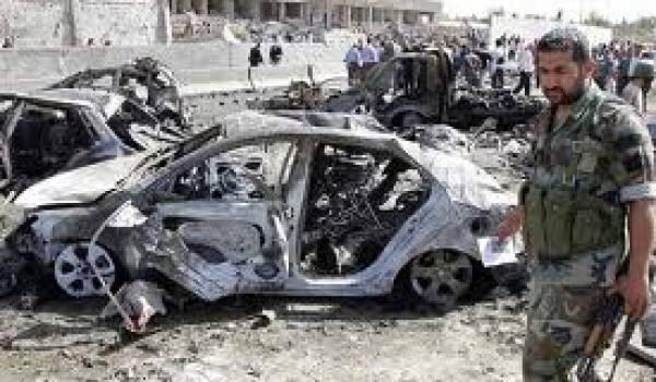 Sept soldats syriens ont péri dans un double attentat à la voiture piégée