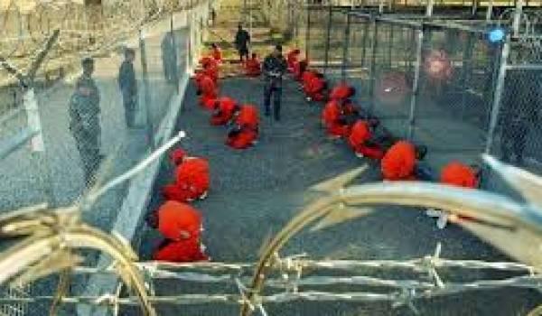 Le camp prison de Guantanamo.