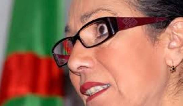 Louisa Hanoune, présidente du PT.