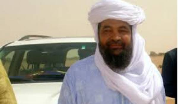 Iyad Ag Ghaly, chef du groupe djihadiste Ansar Eddine,