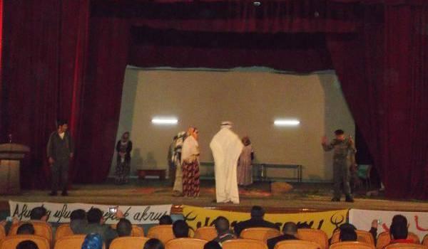 La scène de théâtre de Batna