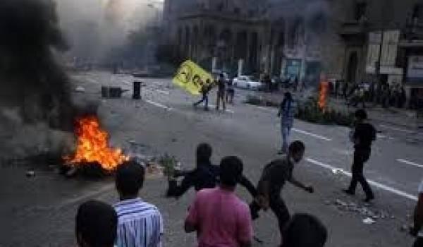 Egypte: onze morts dans des heurts entre police et pro-Morsi,