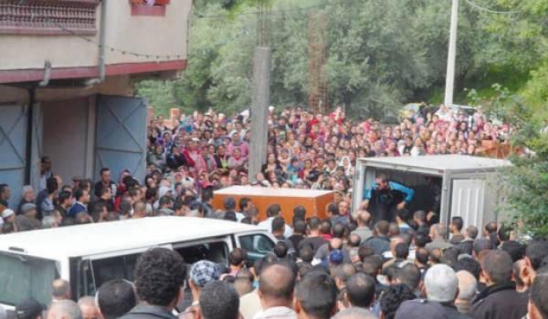 Enterrement de Laceuk Ali, enlevé puis retrouvé mort en mars dernier.