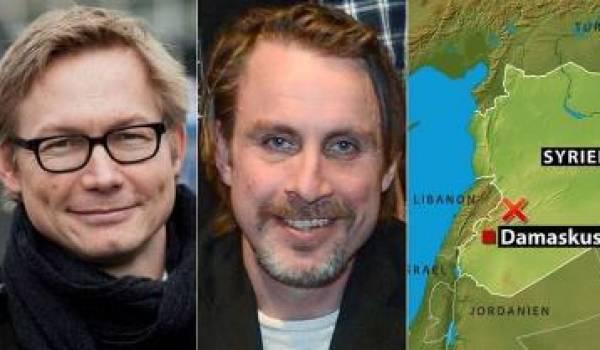 Les deux journalistes suédois libérés.