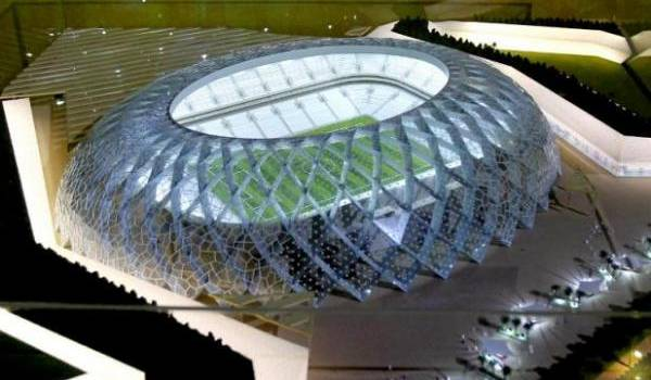 Le prototype du stade climatisé d'El Wakrah où aura lieu le Mondial.