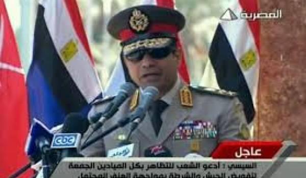 Le général Al Sissi entend rester au pouvoir.