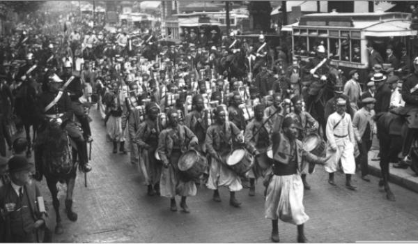 Les tirailleurs algériens, nos premiers héros.