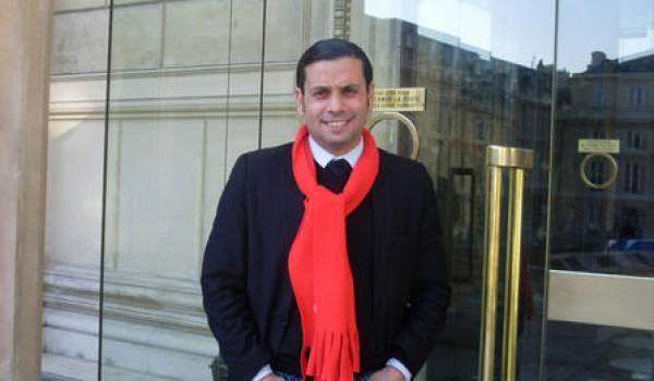 Kamel Hamza, candidat aux municipales à La Courneuve, département de la Seine Saint-Denis.